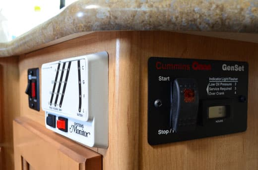 Adventurer-Camper-Review-89RB-Under-Sink-Controls