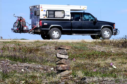 Best-of-Alaska-truck-camper-Monument