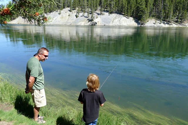 Fishing in Wyoming