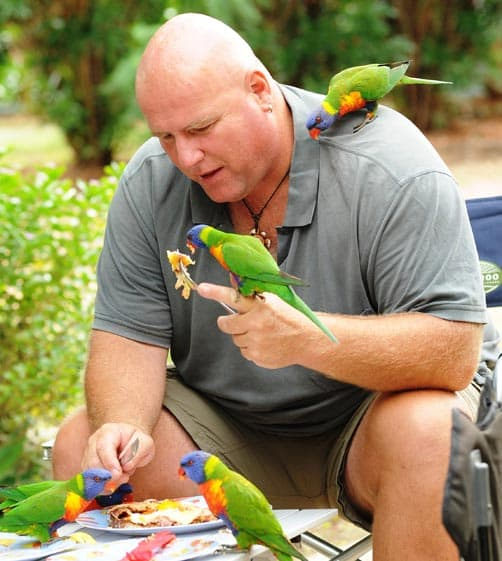Queensland, Marc and the birds