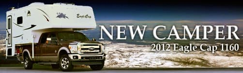 2012 Eagle Cap 1160 double slide truck camper