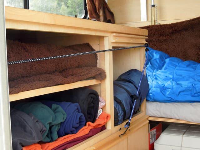 Tokunaga interior camper 4. Living Large in an Alaskan Mini   Truck Camper Magazine