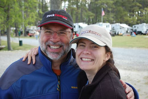 Angela and Guy Meet at the Mid-Atlantic Truck Camper Rally