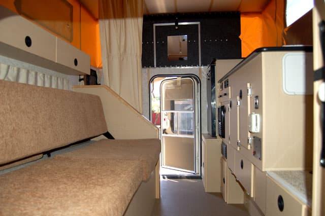 Survivor Truck camper interior 2. The Survivor Truck Bug Out Vehicle