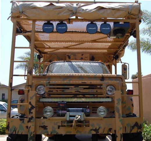 Bug Out Camp : The survivor truck bug out vehicle camper magazine