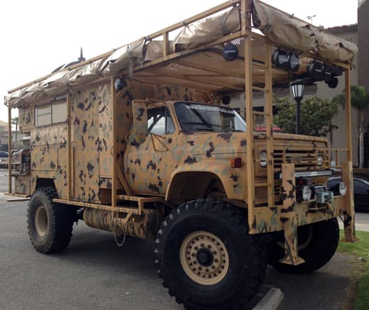 Bug Out Van Interior : The survivor truck bug out vehicle