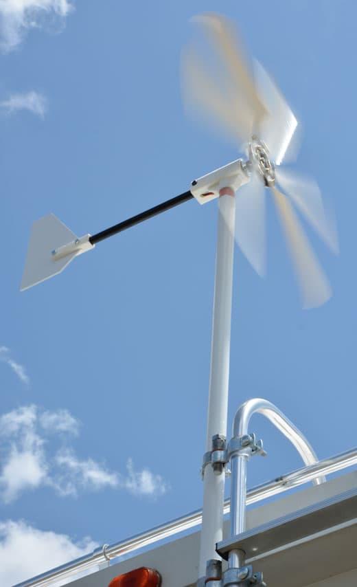 The Windwalker Wind Generator Truck Camper Magazine