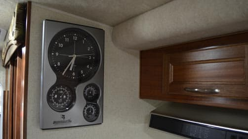 Northern Lite camper clocks