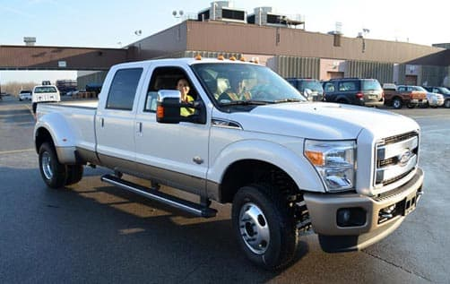 Brand New crew cab, dually, Ford F-350
