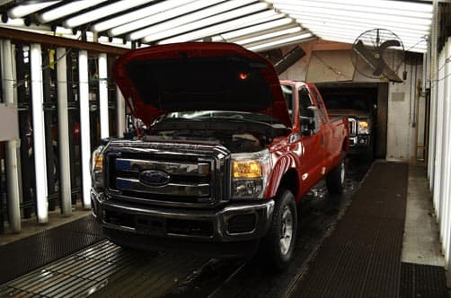 Ford KTP Final Truck Inspection