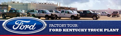 Ford Kentucky Truck Plant Tour