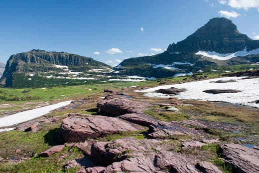 Glacier National Park Camping And Hiking