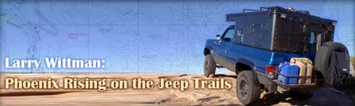 Larry Wittman, On the Jeep trails