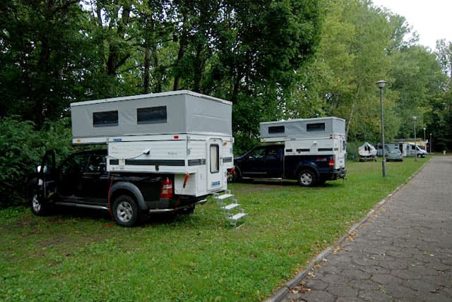 truck camping in germany and poland 2. Black Bedroom Furniture Sets. Home Design Ideas