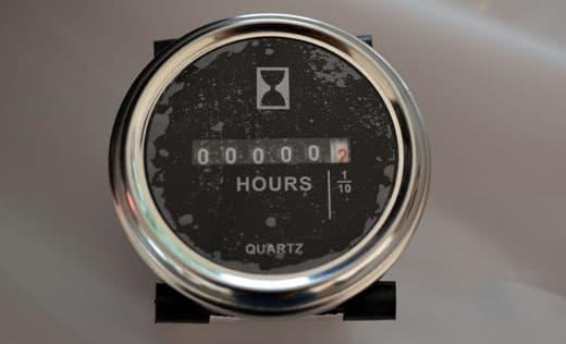 Honda Hour Meter : Honda eu i generator hour meter installation