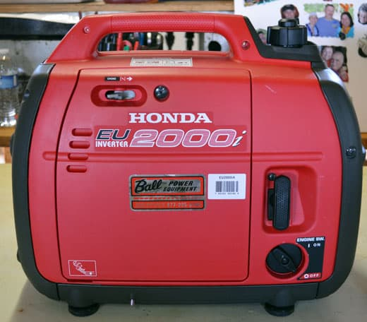 honda-generator-before-photo