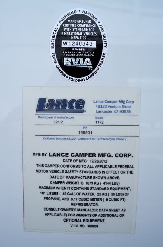 Lance-1172-Weight-Sticker
