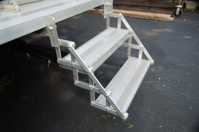 Bolt On Steps For Campers : Top mod contest part folding step system