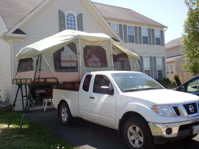 Vehicle Tent Campers : Top mod contest part truck camper magazine