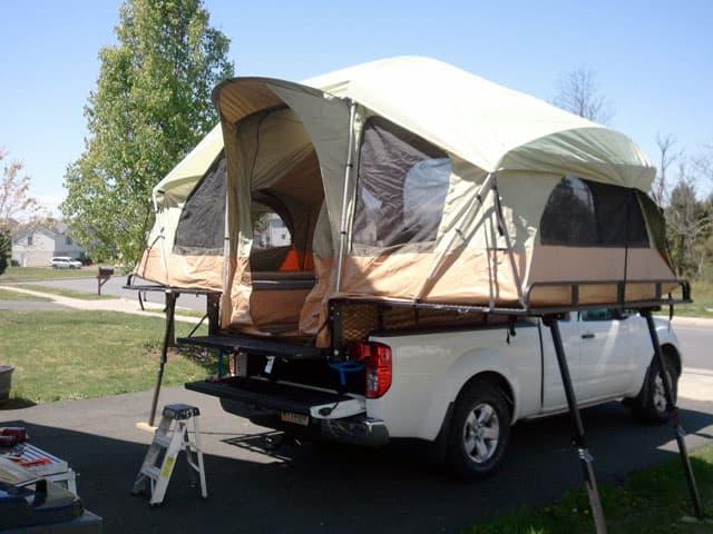 Tent Trailers Vehicle : Top mod contest part truck camper magazine