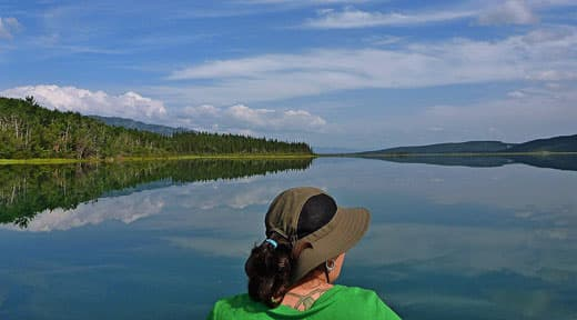 full-timers-Paddling-the-Yukon-River
