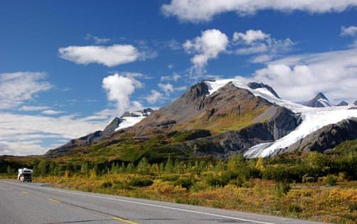 Glacier Richardson Highway