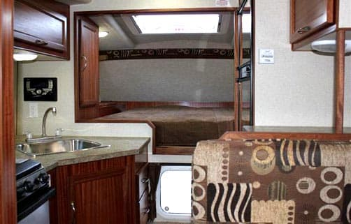 Northern Lite 10-2 RR Dry Bath interior