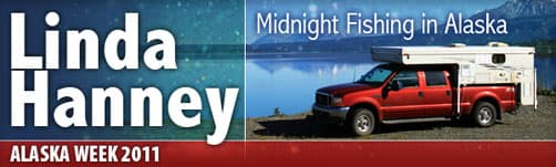 Linda Hanney: Midnight Fishing in Alaska