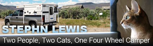 Stephn Lewis and Cat Camping