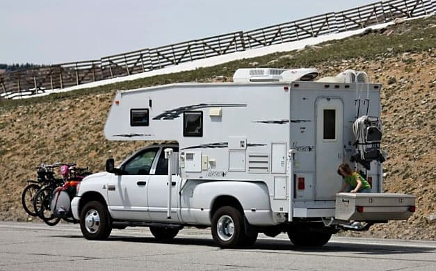 Florida Campground Owner And Truck Camper