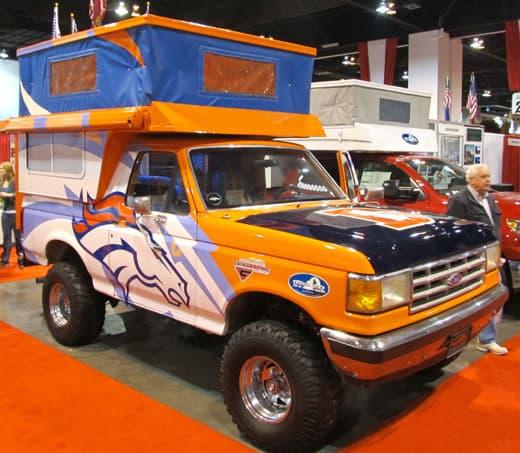 Ultimate Tailgating Camper - The Phoenix Bronco Bronco