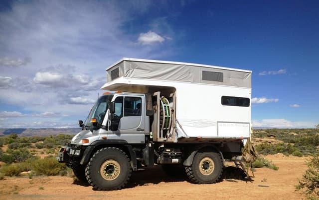 Mercedes Truck Camper >> Building a Unimog Truck Camper Rig