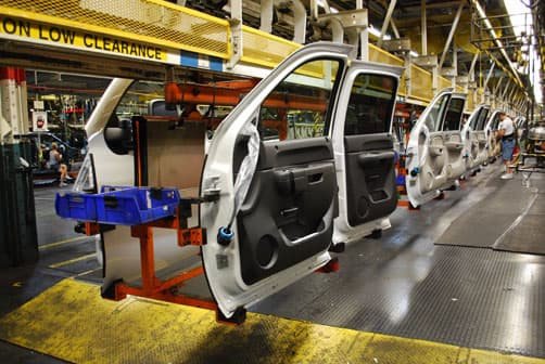GM Door Production Line