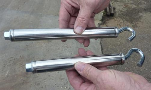 Front and Rear Happijac Turnbuckles