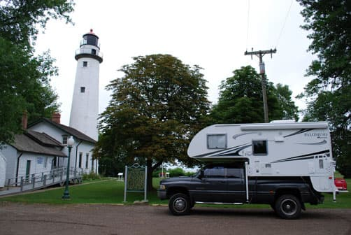 Pointe Aux Lighthouse in Michigan's Thumb