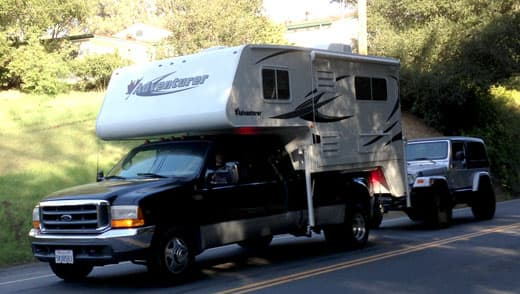 truck campers tow anything part 2. Black Bedroom Furniture Sets. Home Design Ideas