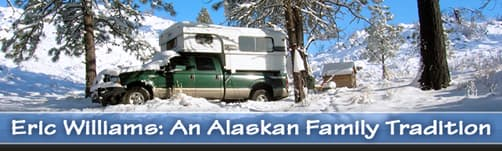 An Alaskan pop-up camper Family Tradition