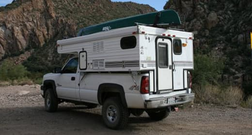 pop-up-truck-camper-canoe