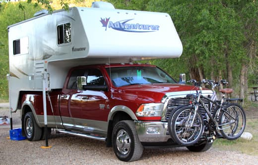 Bike Solutions For Truck Campers - Truck Camper Magazine