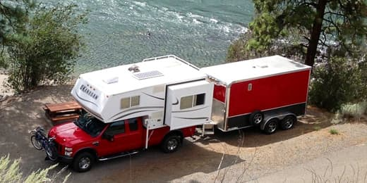 Bike Solutions For Truck Campers Truck Camper Magazine
