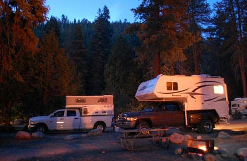 Boondocking in Sequoia National Park