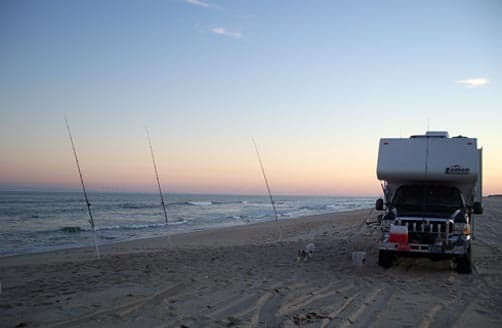 Assateague Island Boondocking in a Lance Camper