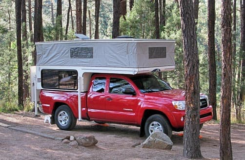 Boondocking in a Phoenix Camper by Coyote RV