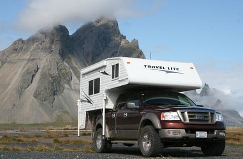 Boondocking in Iceland
