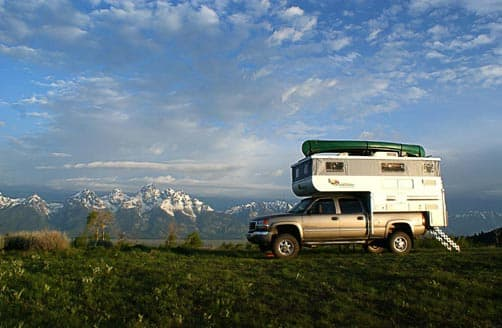 Boondocking in Colorado in an Outfitter Camper