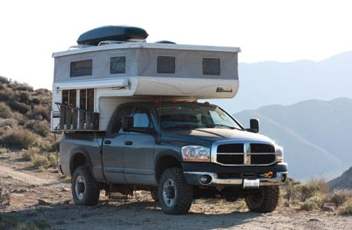 Frank Ross Boondocking in his Hallmark Camper