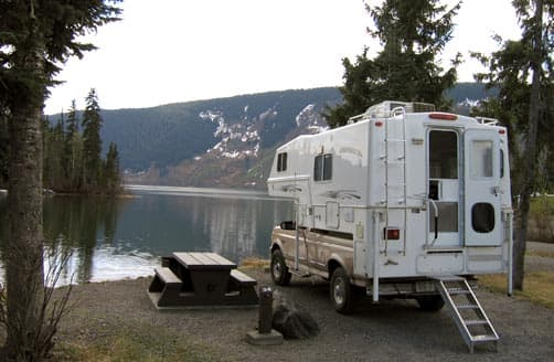Boondocking Veeders in a Northern Lite