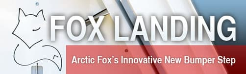 Fox Landing Arctic Fox's innovative new bumper step