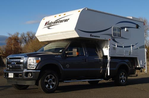 Adventurer 980RDS truck and camper