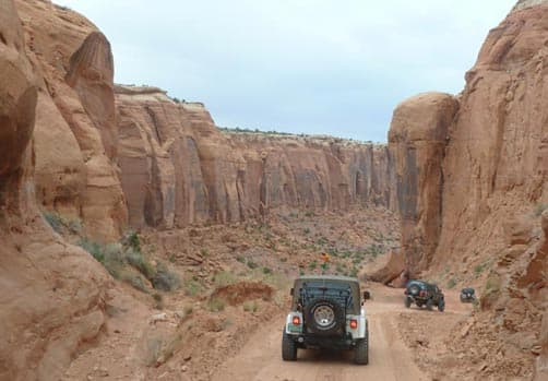 Jeeping on Long Canyon Road